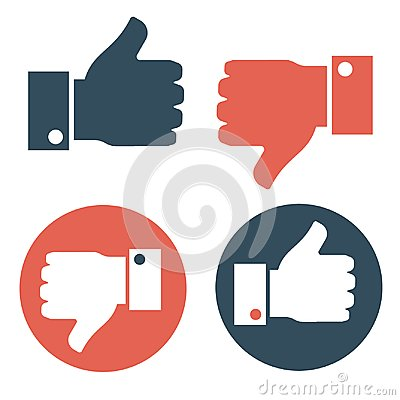 Free Thumbs Up And Thumbs Down Stock Image - 106170271