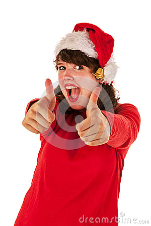 Thumbs up for Christmas