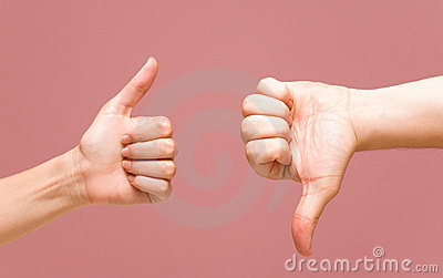 Thumbs up and down + PATH