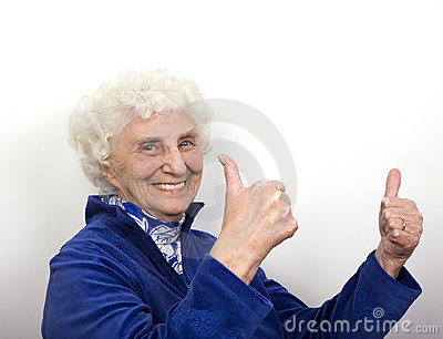 Thumbs Up Granny