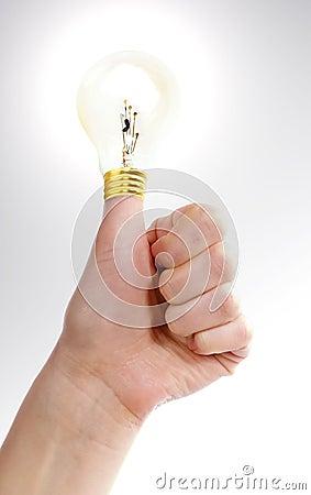 Thumbs Up Idea