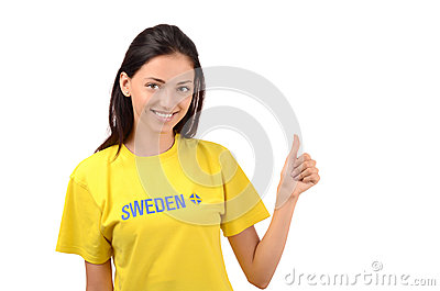 Thumbs up for Sweden.