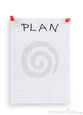 Thumbtacked plan