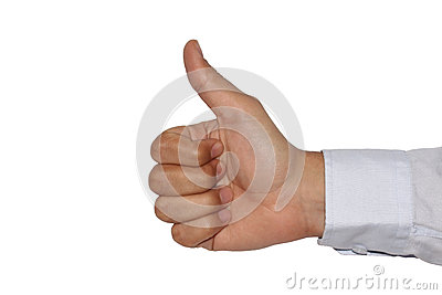 thumps-up-sign-clinton-sign-white-backgr...099834.jpg