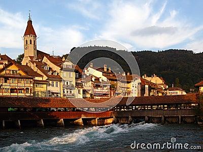 Thun city, Switzerland