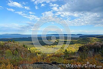 Thunder Bay Fall Landscape