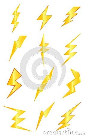 Thunder Lightning Stock Images Image 33411004