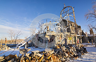 Thunder Mountain Site Editorial Image