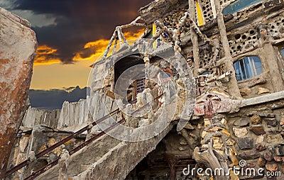 Thunder Mountain Sunset Editorial Photography