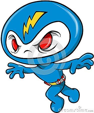 Thunder Ninja Vector