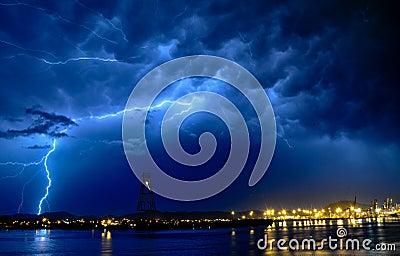 Thunder at sea