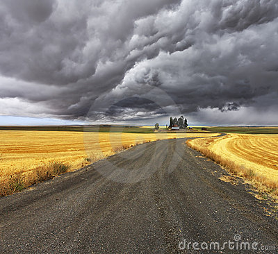 Free Thunder-storm Above Montana. Stock Photos - 11603443