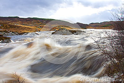Thunderous Water on Rannoch Moor