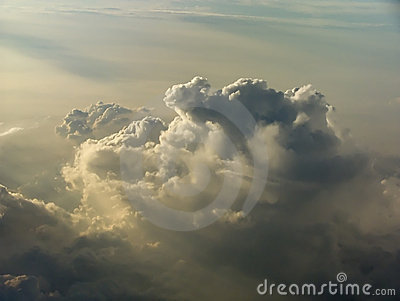 Thunderstorm from above