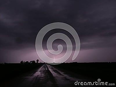 Thunderstorm Lightning - Central Illinois