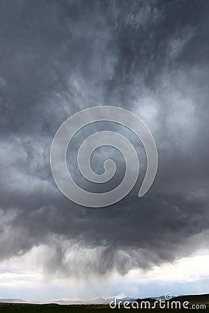 Thunderstorm in Rural Idaho