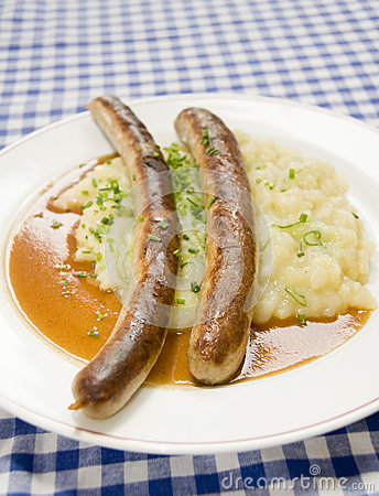 Thuringer rostbratwurst potato Berlin