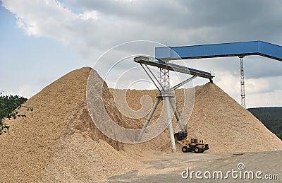Thuringia завода гравия