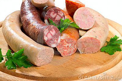 Thuringia sausage