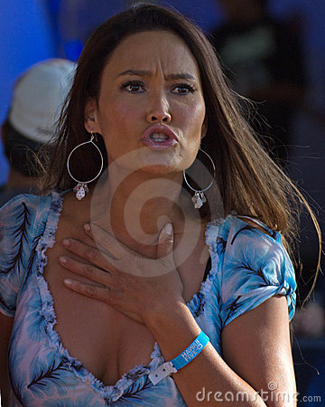 Tia Carrere Editorial Stock Photo