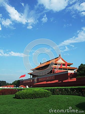 Tian anMen Gate in Beijing
