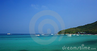 Tian Beach in Koh Larn Pattaya Thailand