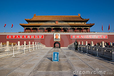 Tian an men Editorial Image