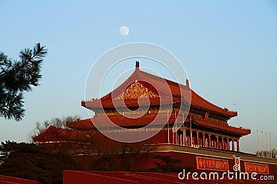 Tian-An-Men Editorial Stock Photo