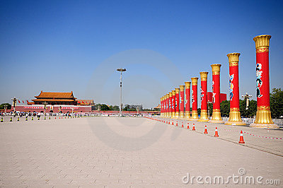 Tian An Men of Beijing Editorial Stock Image