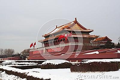 Tian an men(Gate) of Forbidden City