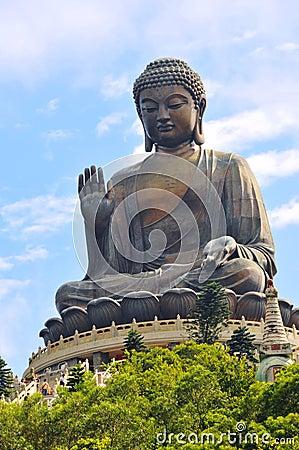 Free Tian Tan Buddha Stock Image - 6704211