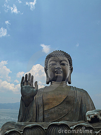 Tian Tan Giant Buddha from Po Lin Monastery Hong K