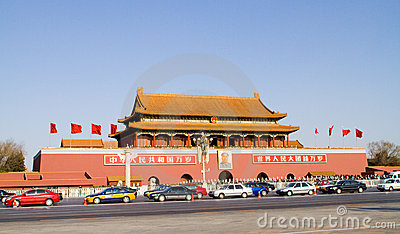 Tiananmen Editorial Image