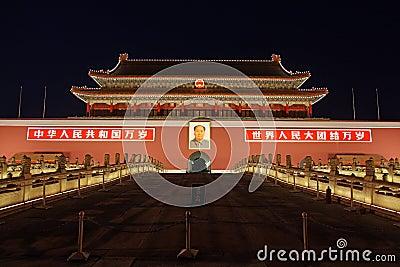 Tiananmen Gate Editorial Image