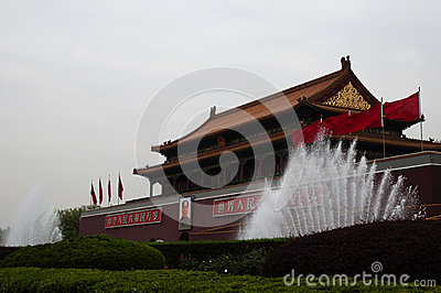 Tiananmen s gate tower - China Editorial Stock Photo