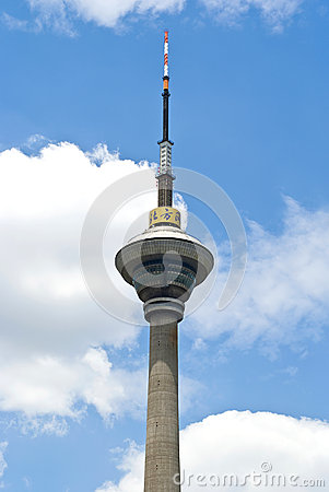 Free Tianjin TV Tower Stock Image - 59366261