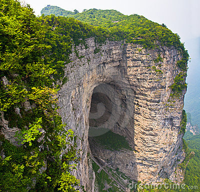 Tianmen Cave, Mount Tianmen National Park, China