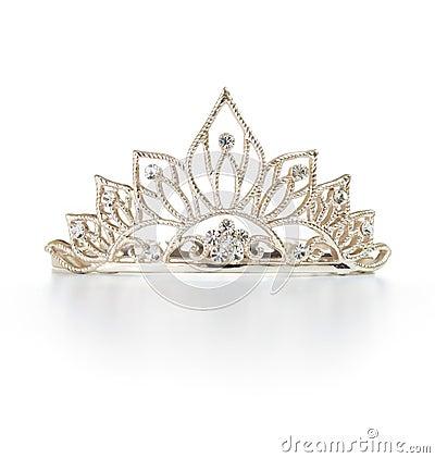 Free Tiara Or Diadem With Reflection Stock Photo - 19026950