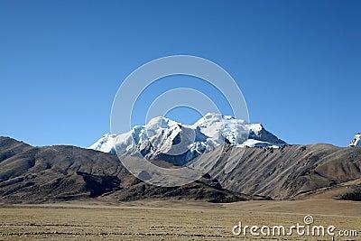 Tibet altiplano