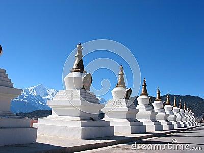 Tibet Buddhism Chorten
