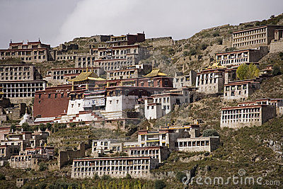Tibet - Ganden Namgyeling Monastery