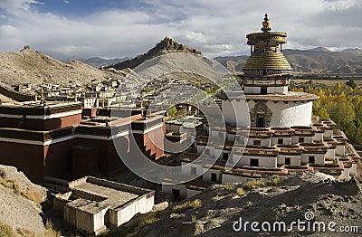 Tibet - Gyantsie Fort and Kumbum