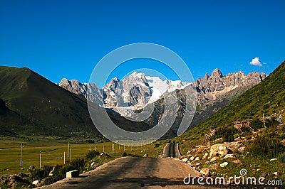 Tibet landscapes