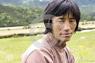 Tibet man Editorial Image