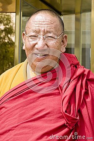 Tibet monk Editorial Stock Photo