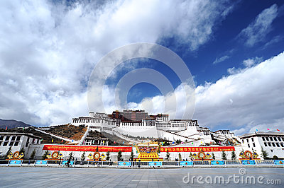 Tibet - Potala Palace Editorial Image