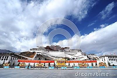 Tibet - Potala Palace Editorial Image