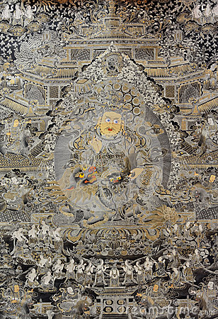 Tibet religion painting, China