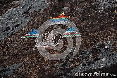 Tibet,religion sign