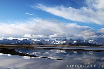 Tibet s snow mountains